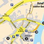 Plan détaillé du centre ville