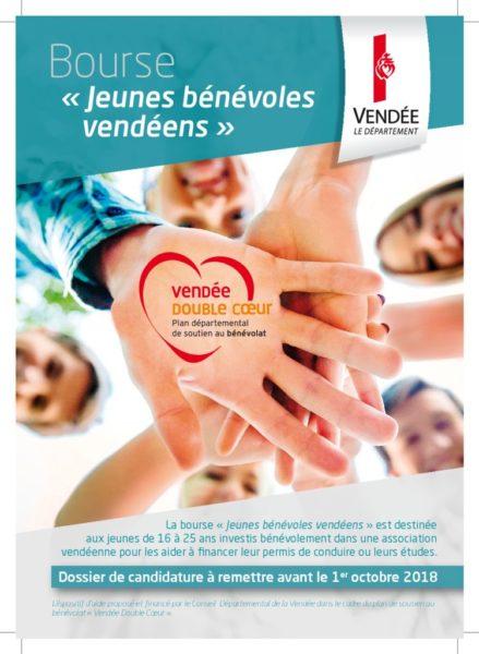 thumbnail of Flyer Bourse Jeunes bénévoles vendéens